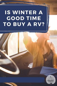 Everyone thinks winter must be the best time to buy an RV, but is it really? I share with you my thoughts and tell you what time of year is a really good time to buy an RV. Best Money Saving Tips, Saving Money, Rv Financing, Buying An Rv, Things To Come, Good Things, Rv Life, Road Trips, Travel Ideas
