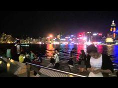 Hong Kong Harbour, at night - YouTube