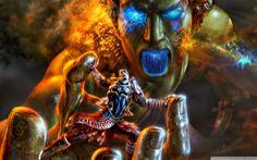 Kratos Wallpaper by WallpaperWide