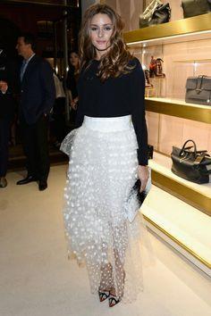 A Stylish Week for Olivia Palermo-Paris Fashion Week-Chole Attitudes Book Launch-Spring 2014
