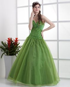 Satin Organza Beading Sweetheart Floor Length Quinceanera Prom Dress  Read More:     http://www.weddingscasual.com/index.php?r=satin-organza-beading-sweetheart-floor-length-quinceanera-prom-dress.html