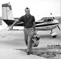 Arnold Palmer, American golfer