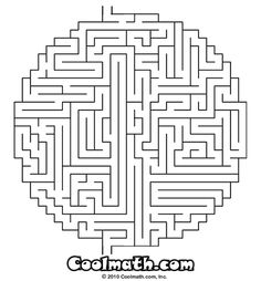 Maze Page Print your free maze at AllKidsNetworkcom 3rd even