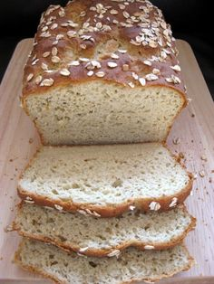 """"""" Gluten-free breads are delicious, healthy and easy to make. Check out these 40 delicious gluten free bread recipes. I want to try Read more: 40 Delicious Gluten Free Bread. Gluten Free Cooking, Gluten Free Desserts, Vegan Gluten Free, Millet Bread, Millet Flour Bread Recipe, Bolo Fit, Gluten Free Oatmeal, Allergy Free Recipes, Celiac Recipes"""