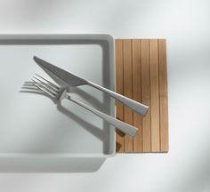 Zest Stone Washed Cutlery Collection - Knindustrie #italianstyle #madeinItaly #RodolfoDordoni