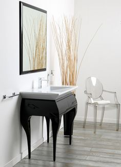 Wooden vanity unit with drawers Impero Collection by Olympia Ceramica | design Gianluca Paludi
