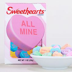 Step 6). Include a conversation heart message on the tray...how creative that would be :)