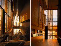 dominique perrault dresses albi grand theatre with copper screen 02 Theatre Architecture, Florence Tuscany, Istanbul, Rome, France, Studio, Shutters, Theater, Copper