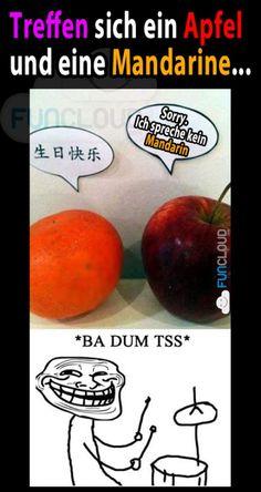 Mandarin...