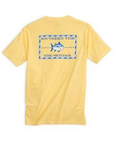 Original Skipjack T-Shirt | Southern Tide | Pineapple size: small