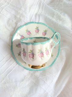 Rosina Floral Tea Cup Saucer.