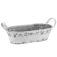 Get the Medium White Oval Bucket Container By Ashland® at Michaels.com. Put together a country-inspired decor or storage accessory with this oval bucket container by Ashland.