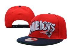 Top #NFL New England #Patriots Snapback #Hat Red Navy