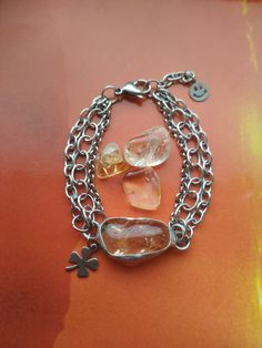 Citrín je kameňom šťastia a hojnosti Chain, Bracelets, Men, Jewelry, Jewlery, Jewerly, Necklaces, Schmuck, Guys
