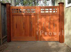 Prowell's Wood Driveway Gate #22