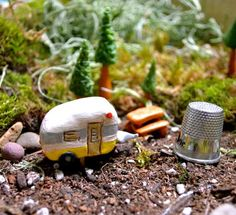 camping fairy gardens - Google Search