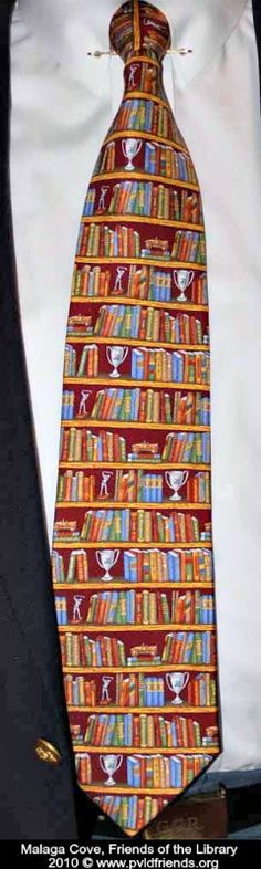 LIBRARY TIE!  Malaga Cove Branch. Peninsula Library District, Palos Verdes Peninsula, CA.  FRIENDS OF THE LIBRARY 2010 photo © www.pvldfriends.org Great website! Donate books or money to support YOUR local library ...Encourage libraries  to share the fun!  Pin/Link directly to  their websites & credit the photographer.   See: http://pinterest.com/picturebooklove/how-to-pin-responsibly/