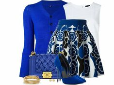 Nice royal blue combo