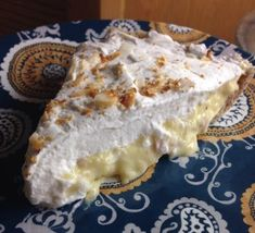 THM- Coconut Cream Pie- Trim Healthy Mama (S) dessert!! Mrs. Criddle's Kitchen