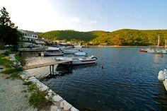 Agios Stefanos harbour, Northern Corfu.