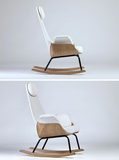 Furniture Ideas 14 Awesome Modern Rocking Chair Designs The Tall Back On This