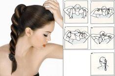 Для такой прически понадобится простая резиночка на голову, однотонная или с узором.