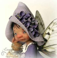 fairy puppets / fotogalerij | enaidsworld Polymer Clay Crafts, Polymer Clay Jewelry, Biscuit, Fairy Figurines, Clay Baby, Fairy Dolls, Fairy Land, Felt Dolls, Clay Projects