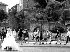 matrimonio a Roma - Via dei Fori Imperiali