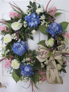 SPRING Garden Couronne XL Spring Pastels Couronne été Couronne mères journée cadeau porte couronne florale Couronne livraison gratuite
