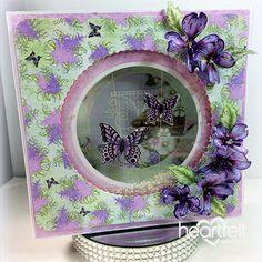 Heartfelt Creations - Fluttering Around the Garden Project