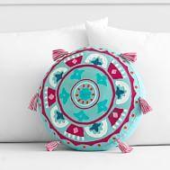 The Emily & Meritt Heart Sequin Pillow