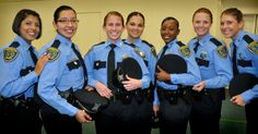 """The newest """"Ladies of HPD"""" started patrolling the streets this past weekend. After six months in the police academy, these seven ladies of Academy Class 206"""