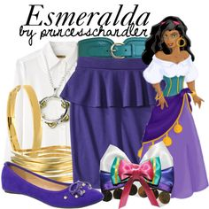 """Esmeralda"" by princesschandler on Polyvore"