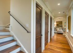 Gorgeous wooden interior doors in the cottage at 5550 Cypress Cottage Lane on #Kiawah Island (available for sale as of 03.23.16)
