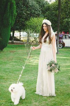 Enjoy your wedding with your furry friends! See more here: http://www.susanarios.com/