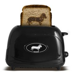 Pet Toast Dog Dachshund ... doxies on your toast! ha!