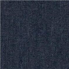 Bench: Indigo Denim 8.5 oz Dark Unwashed Blue