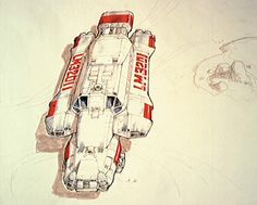 Getting There: The Nostromo — Gavin Rothery