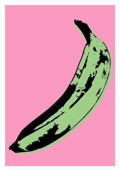 Andy Warhol pop art print poster banana album record cover art home decor wall art print kitchen decor pink poster white modern graphic The Velvet Underground, Andy Warhol Pop Art, Andy Warhol Prints, Cultura Pop, Cover Art, Music Poster, Pop Art Movement, Pop Art Posters, Jean Michel Basquiat