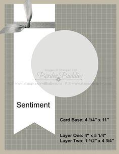 Border Buddy Card Sketch - BB005