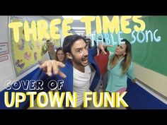 Three Times Table Song (Cover of Uptown Funk by Mark Ronson and Bruno Mars) - Also check out the 2's, 4's, 6's, 7's & 8's songs by Mr. DeMaio!