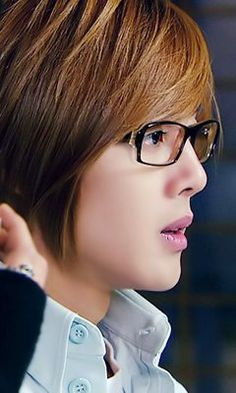 Kim Hyun Joong 김현중 ♡ glasses ♡ Boys Over Flowers ♡ Yoon Ji Hoo ♡ Kdrama ♡ Kpop ♡
