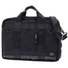 Porter Heat 3 Way Boston Bag. Ref : 703-0696.4 Size: W420/H305/D120. Color : Black. Main Fabric: Ballistic Nylon Canvas ( Nylon 100 %). Bottom of the bag : Tarpouline Lining Fabric: Nylon Canvas ( Nylon 100% ). Additional: Each bag comes with a porter orifinal Maglight as a zip puller.