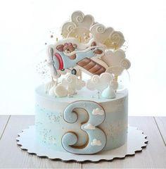 Cake Pops Flower 52 New Ideas Baby Cakes, Baby Shower Cakes, Airplane Birthday Cakes, Toddler Birthday Cakes, Cake Birthday, Birthday Cheesecake, Fondant Cakes, Cupcake Cakes, Kid Cupcakes