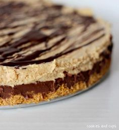 Reeses Fudge Pie Recipe... WARNING: not safe for peanut butter cup addicts