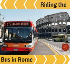 Learn all about using Rome's bus system during your next trip to the Eternal City! | LivItaly
