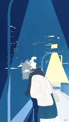 Art Anime, Anime Artwork, Anime Art Girl, Anime Scenery Wallpaper, Cute Anime Wallpaper, Kunst Inspo, Art Inspo, Cartoon Kunst, Cartoon Art