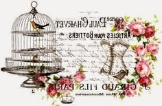 Decoupage Graphic transfers in the style of Shabby Chic Decoupage Vintage, Decoupage Paper, Shabby Vintage, Vintage Labels, Vintage Cards, Vintage Paper, Vintage Pictures, Vintage Images, French Typography
