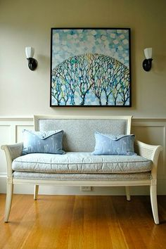 Decorate Large Spaces With Budget Wall Art: Fill empty walls by using these art tips that won't break the bank. Original art may seem out of reach, but there are many websites that specialize in a variety of budget options, including Society6.com, TheTappanCollective.com, Minted.com, and others. Alex Farkas, the co-founder and gallery director of one of these sites, UGallery.com, offered up some tips for stylishly decking out an expansive space.