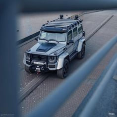 The beast! The BRABUS Adventure is a stunning vehicle from any angle. - Photograph courtesy of Mercedes Benz Maybach, Mercedes G Wagon, Mercedes G Class, Bone Stock, Suv Camping, Armored Truck, Lux Cars, Mc Laren, Jeep 4x4